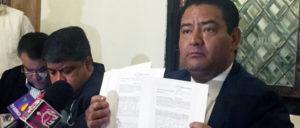 Eduardo Nery pidió también la renuncia de Omar Ortega