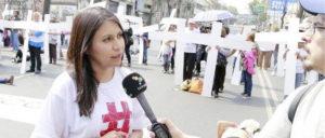 """Xóchitl Arzola Vargas, presidenta de la organización ciudadana """"Mujeres en Cadena"""""""